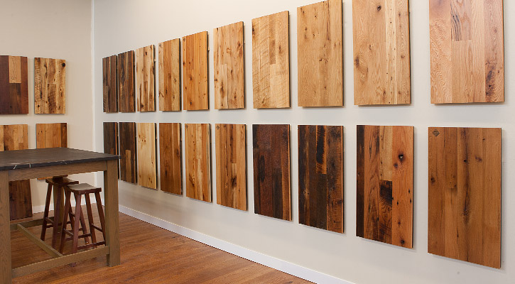 Reclaimed Wood from Jewett Farms + Co. - From Falling Down Barn To New Hardwood Floor - The Story Of