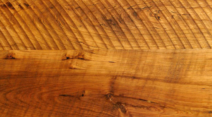 Old Growth Pioneer Cherry Circular Sawn Plank Flooring