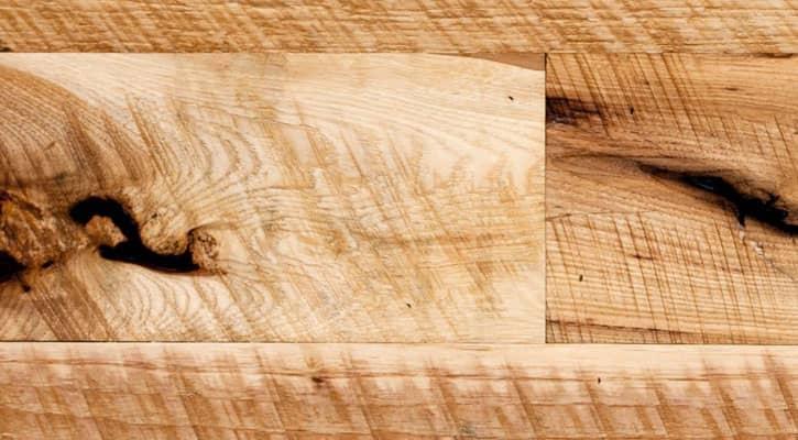 Old Growth Vintage Hickory Wide Plank Flooring Jewett