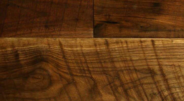 Old Growth Walnut Circular Sawn Plank Flooring Jewett
