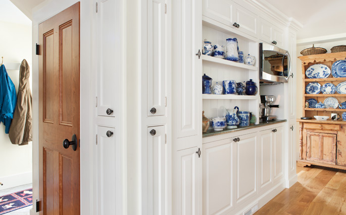 Historic Home Custom Cabinetry in Manchester, MA