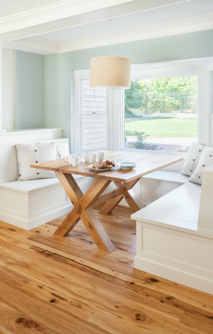 Kitchen Dining Room Pass Through Glass Cabinets