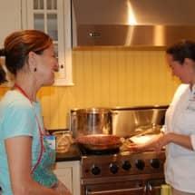 Cooking Class Snapshots