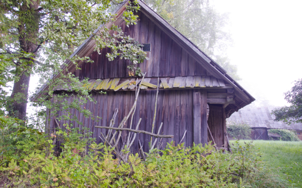 Reclaimed © Alisbalb | Dreamstime.com - Old Wooden Barn In Farm Photo