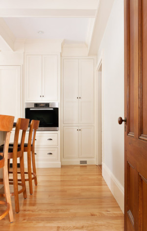 Floor to ceiling custom kitchen cabinetry