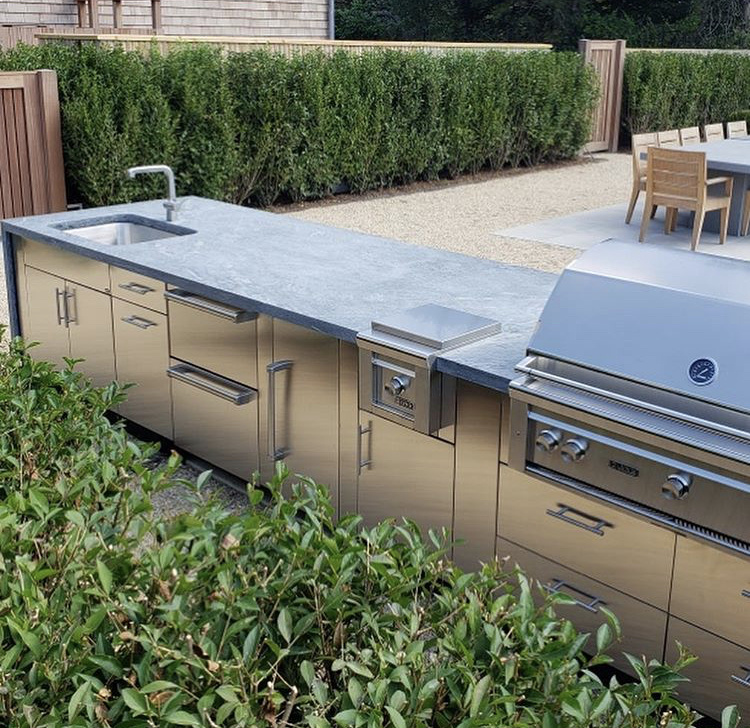 Outdoor Kitchen Should Be Soapstone